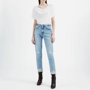 IRO Argan cropped raw-hem jeans 29 NWT